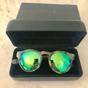 Westward Leaning Voyager 15 Emerald Sunglasses